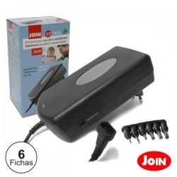 Alimentador Compacto Comutado 36W 5-24Vdc 3A Max. - Join