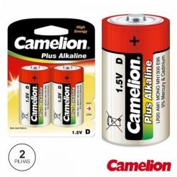 Pilha Alcalina Lr20/D 1.5V 2X Blister Camelion