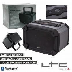 Coluna Bluetooth Portátil 2X3W Usb/Bat Ip44 Ltc