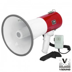Megafone 20W c/Usb Mp3 e Sirene - Vsound