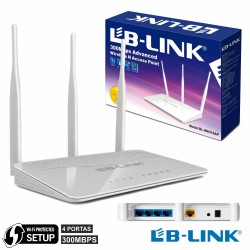 Access Point Wifi 802.11B/G/N 300Mbps 4 Port Wps Lb-Link