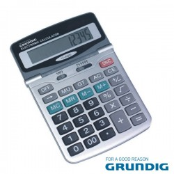 Maquina Calculadora 12 Dígitos Grundig