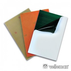 Placa Ci Fotosensível Fibra Vidro 1 Lado 100X160mm Velleman