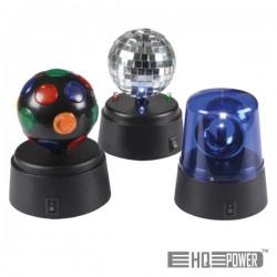 Conjunto de Disco Kit 3 Aparelhos c/ Bateria Hq Power