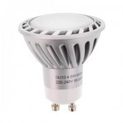 Lâmpada Gu10 4.5W 230V 8 Leds Smd 3020 Branco Frio