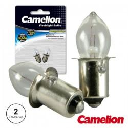 Lâmpada Baioneta 0.5A 2.4V Vacuum 2X Blister Camelion