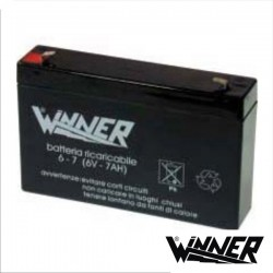 Bateria Chumbo 6V 7A Winner