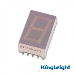 Display 1 Dígito 10mm Cátodo Comum Vermelho Kingbright
