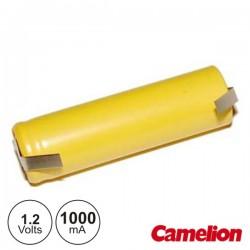 Bateria Ni-Cd AA 1.2V 1000Ma c/ Patilhas Camelion
