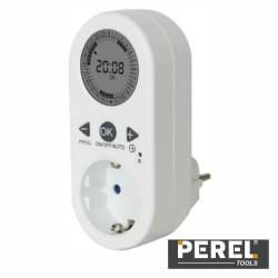 Temporizador Digital Ajustável 24H - Perel