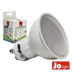Lâmpada Gu10 5W 230V 10 Leds Smd Branco Quente Jolight