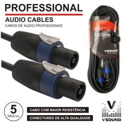 Cabo Pro Speakon Macho / Macho 5M Vsound