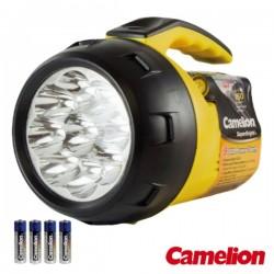 Lanterna 9 Leds Potentes c/ 4 Pilhas Camelion