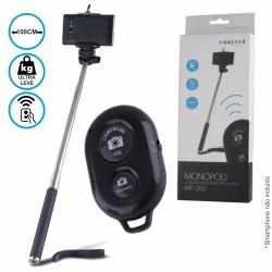Vara Telescópica Monopod p/ Selfies c/ Telecomando