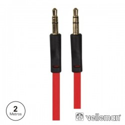 Cabo Jack 3.5mm Macho / Jack 3.5mm Macho St 2M Velleman