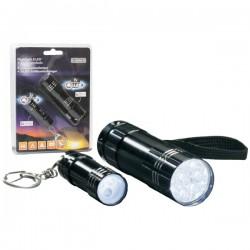 Conjunto 2 Lanternas 9 E 3 LEDs