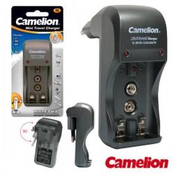 Carregador de Baterias Ni-Cd/Ni-Mh AAA/AA/9V Camelion