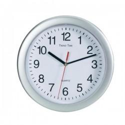 Relógio de Parede Prateado