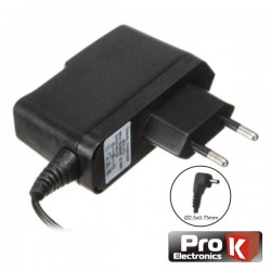 Alimentador Switching 5Vdc 2.1A Ø1.9x0.4x8.5mm Tablet Prok