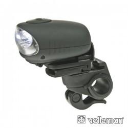 Luz de Segurança p/ Bicicletas c/ 3 Leds Velleman