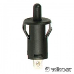 Interruptor Off-(On) 1A - 250V Preto