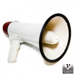 Megafone 15W c/Gravação de Voz Vsound