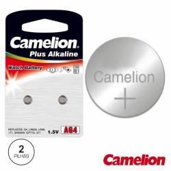 Pilha Botão Alcalina Ag4 / Lr626 1.5V 2X Blister Camelion