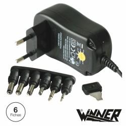 Alimentador Universal Comutado 12W Ac/Dc 1A Max