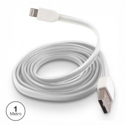 Cabo Usb Branco Tipo-A / Iphone 5/6 Prok