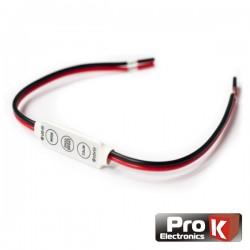Controlador p/ Fita Leds Monocor 12V Prok