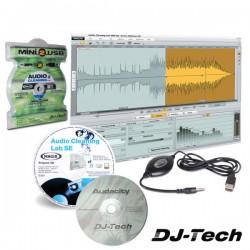 Conversor Áudio Analógico p/ Digital Jack / Usb Dj-Tech
