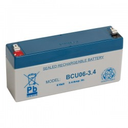 Bateria Chumbo 6V 3.4A