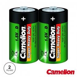 Pilha Zinco-Carvão Lr20/D 1.5V 2X Camelion