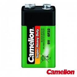 Pilha Zinco-Carvão 9V/6Lr61 400Ma Camelion