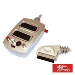 Distribuidor Comutador Scart M / 2Scart-3Rca-Svhs F