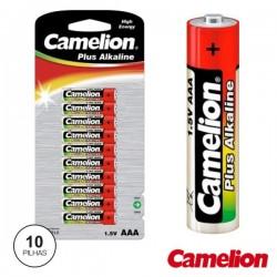 Pilha Alcalina Lr03/AAA 1.5V 10X Blister Camelion