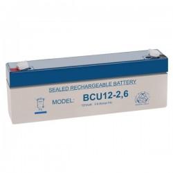 Bateria Chumbo 12V 2.6A