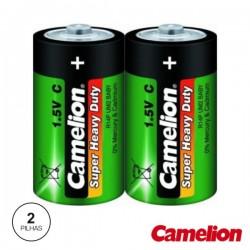 Pilha Zinco-Carvão Lr14/C 1.5V 2X Camelion