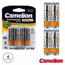 Bateria Ni-Mh AA 1.2V 2700Ma 4X Blister Camelion