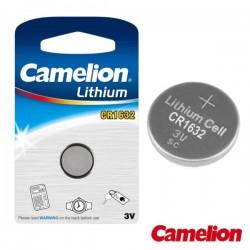 Pilha Lithium Botão Cr1632 3V 120Ma Blister Camelion