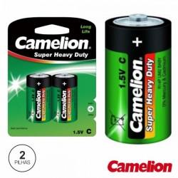 Pilha Zinco-Carvão Lr14/C 1.5V 2X Blister Camelion
