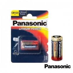 Pilha Lithium Cr123A 3V 1300Ma Panasonic