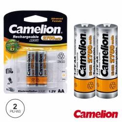 Bateria Ni-Mh AA 1.2V 2700Ma 2X Blister Camelion