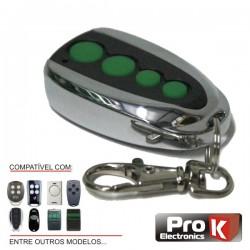 Telecomando Garagem Universal 4 Canais Rolling Code Prok