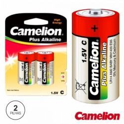 Pilha Alcalina Lr14/C 1.5V 2X Blister Camelion