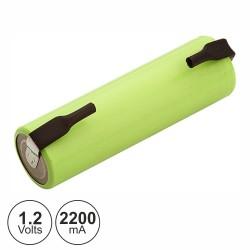 Bateria Ni-Mh AA 1.2V 2200Ma c/ Patilhas