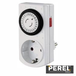 Temporizador Analógico Ajustável 24H - Perel