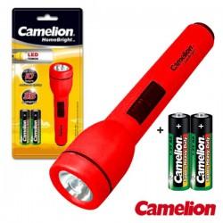 Lanterna 1 Led Alto Brilho + 2 Pilhas AA 35Lm Camelion