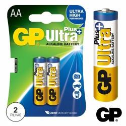Pilha Alcalina Lr6/AA 1.5V 2X Blister - GP Ultra Plus