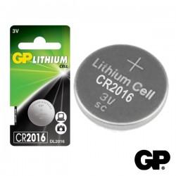 Pilha Lithium Botão Cr2016 3V Blister Gp